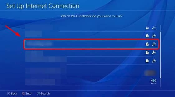 how to connect playstation 4 to wifi