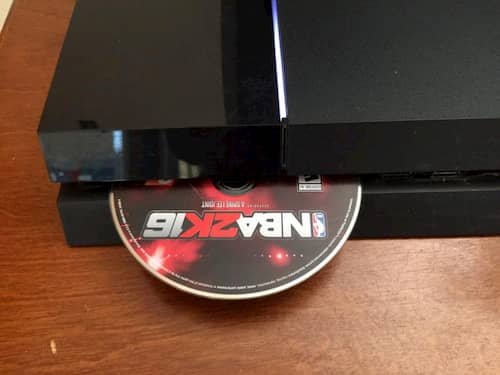 PS4 Ejects Disc