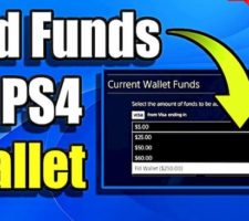 How Do You Add Money To Your PS4 Wallet