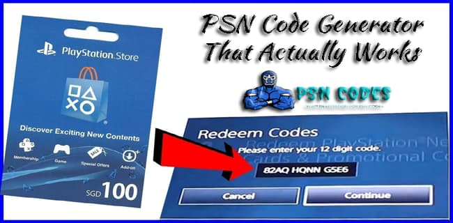 PSN Code Generator That Actually Works
