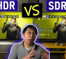 PS5 Between HDR And SDR